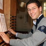 Organist Peter van Nes, Sionskerk, Zeist